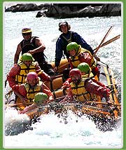 River Rafting in Kaudiyala